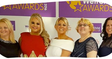 Wellchild Award 2016 for Zoe's Place